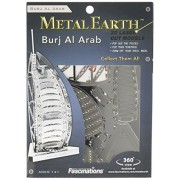 Metal Earth 3D Metal Model - Burj al Arab Building