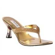 Pantof Girls Heels(Gold)