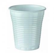 Pahare de plastic 5 PLAL BIBO albe