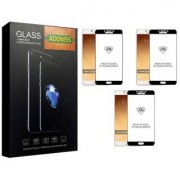Adoniss [9H] Edge to Edge Premium Tempered Glass Mobile Screen Protector (Pack of 3) for Samsung Galaxy C9 Pro