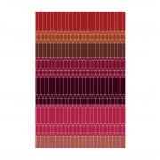 Moooi Carpets Zig Zag Vloerkleed Rood 300 x 200 cm.