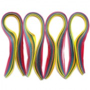 Quilling strips extra long 10MMX20INCH 300STRIPS-MULTICOLOUR