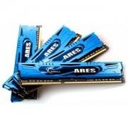 Memorie G.Skill Ares 32GB (4x8GB) DDR3 PC3-19200 CL11 1.65V 2400MHz Intel Z97 Ready Dual Channel Quad Kit Low Profile, F3-2400C11Q-32GAB