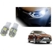 Auto Addict Car T10 5 SMD Headlight LED Bulb for Headlights Parking Light Number Plate Light Indicator Light For Hyundai i20 Active