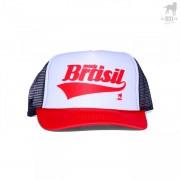 CA-RIO-CA MIB 3 Tone Trucker Hat Black/Red/White CRC-H1076