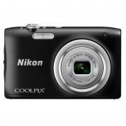 Nikon Coolpix A100 20.1MP Preta + Bolsa + Tripé