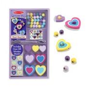 Melissa & Doug Heart Bead Set, Multi Color