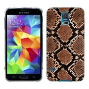 Husa Samsung Galaxy S5 Mini G800F Silicon Gel Tpu Model Animal Print Snake