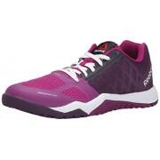 Reebok Women's Ros Workout TR Training Shoe, Royal Orchid/Fierce Fuchsia, 5 M US