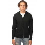 Royal Apparel Unisex Thermal Full Zip Hoody Long Sleeved Sweater Black 28050