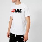 Diesel Men's Just Division T-Shirt - White - XXL