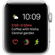 Apple Watch Series 2 (A1758) SOLAMENTE CUERPO, Aluminio en Plata, 42mm, C