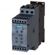 Lágyindító 63A, motor hővédelemmel, 3f 30-37Kw 400-600V motorokhoz, 24V AC/DC vezérlő feszültség, csavaros csatlakozás, S2 méret (Siemens 3RW4037-1TB05)