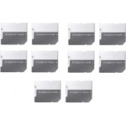 YTM (Pack of 10) Pcs SD SDHC Memory Card Adapter (Grey) 64 GB MicroSD Card Class 10 10 MB/s Memory Card