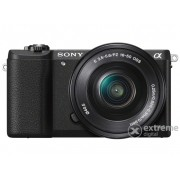 Aparat foto kit Sony Alpha 5100 kit (obiectiv 16-50mm + 55-210mm), negru