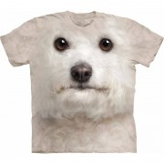 The Mountain Honden T-shirt Bichon Frise