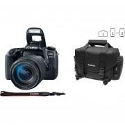Cámara Reflex Canon Eos 77d 24.2 Megapixeles Kit Con Lente 18-135 Wifi Bundle Maleta Y Memoria16gb