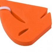 ELECTROPRIME Boating Sea Fishing Water Floating Keychain Key Ring-Sailing Boat Orange