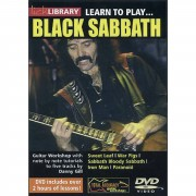 Roadrock International Lick library - Black Sabbath Learn to play (Guitar), DVD