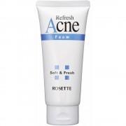 ROSETTE «Acne Foam» Пенка для умывания для проблемной подростковой кожи, с серой, 120 г.
