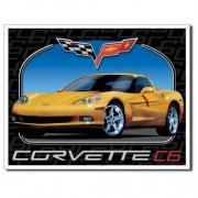 """Sign - Chevrolet Corvette C6"""