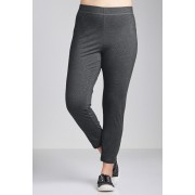 Womens Sara Slim Leggings - Charcoal Marl Trousers