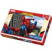 Puzzle Spiderman in actiune 160 pcs 15221 Trefl
