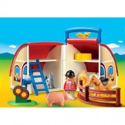 1.2.3 Take Along Barn Playmobil