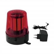 EuroLite LED Luz de Policía 108 LEDs rojo classic