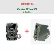 NATURACAM® COFFRET XL Caméra NATURACAM® SP1 ou 2 + boîtier de sécurité