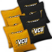 VCU RAMS VIRGINIA COMMONWEALTH Cornhole Bags SET of 8 Officially Licensed ACA REGULATION Baggo Bean Bags ~ Made in the USA