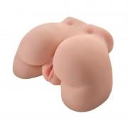 CAIXA PRESENTE COM VIBRADOR RECARREGÁVEL TUNDRA ROSE AZUL E OFERTA DE TANGA CHARMEA L/XL + 3 X LUBRIFICANTE PJUR WOMAN NUDE 2ML