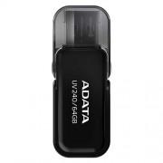 USB Kľúč 64GB ADATA UV240 USB black (vhodné pre potlač)