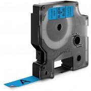 Dymo Standard D1 Tejp 12mm Svart på blått