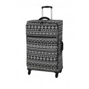 IT Luggage 303 The-Lite 4 Wheel Non-Expander Luggage ZIGGY TRIBAL PRINT