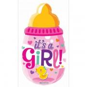 Balon folie 50 cm Biberon It's a Girl