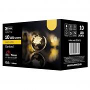 Aranycsengő karácsonyi fényfüzér 10LED 0,6W beltéri