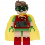Lego Minifigura de Robin con Reloj Despertador - Batman: La Lego Película