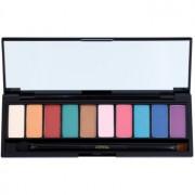 L'Oréal Paris Color Riche La Palette Glam палитра от сенки за очи с огледалце и апликатор 7 гр.