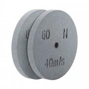 Disco de lixa - grão 60 - 200 x 20 mm - 2 pçs.