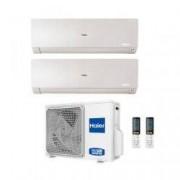 HAIER Climatizzatore Dual Split Flexis Bianco 7000+9000 2u40s2sc1fa R-32 A++/a+ 7+9
