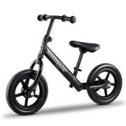 "Kids Balance Bike Ride On Toys Puch Bicycle Wheels Toddler Baby 12"" Bikes Black"