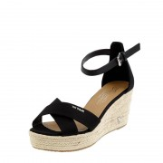Tom Tailor Wedges aus Canvas