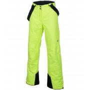 ALPINE PRO MINNIE 2 Dámské kalhoty LPAF088530 reflexní žlutá L