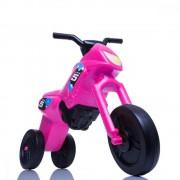 Tricicleta fara pedale Enduro Maxi roz-negru