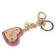 Ключодържател LIU JO - Heart Plexi Keyring N69221 A0001 Mauve Orchid 62111