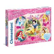 """Clementoni """"Princess"""" Puzzle (104 Piece), 13.19 x 9.25"""""""
