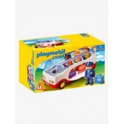 6773 Autocarro do Aeroporto, da Playmobil branco medio bicolor/multicolo