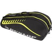 Dunlop - Club 6 tennistas - Unisex - Accessoires - Zwart - 1SIZE