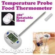 Gadget HeroS Details About Barbeque Bbq Food Probe Kitchen Cooking Thermometer Sensor Range -50 To +300 C